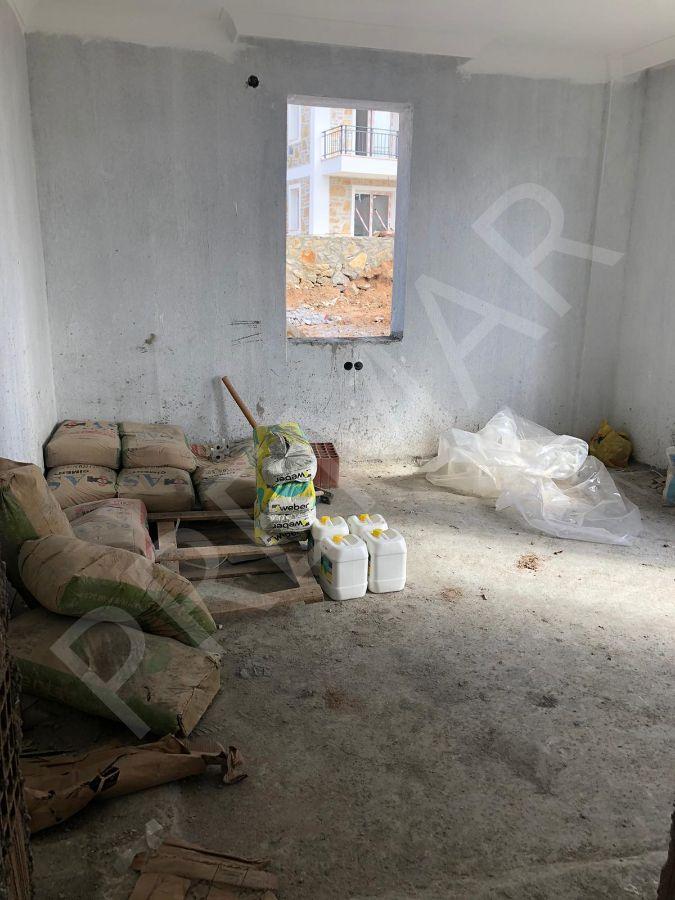 Premar Datça Bugaz'da Geniş 3+1 Bahçeli Daire