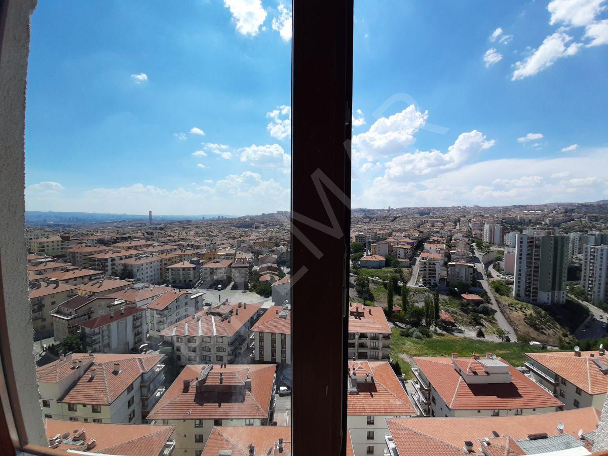 Kuzey Ankara'da Manzaralı Ara Katta Kiracılı Daire