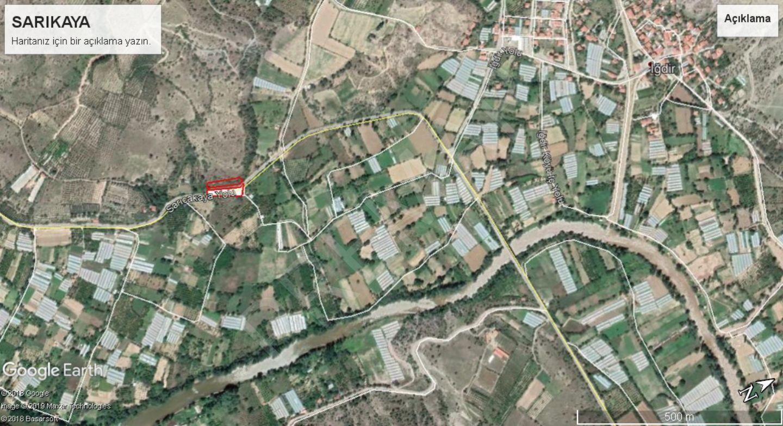 Eskişehir Sarıcakaya Sarıkaya Mahallesinde Satılık Bağ Bahçe