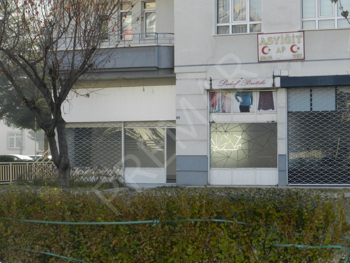 Premar'dan Erciyesevler Mahallesinde Cadde Üzeri Kiralık Dükkan