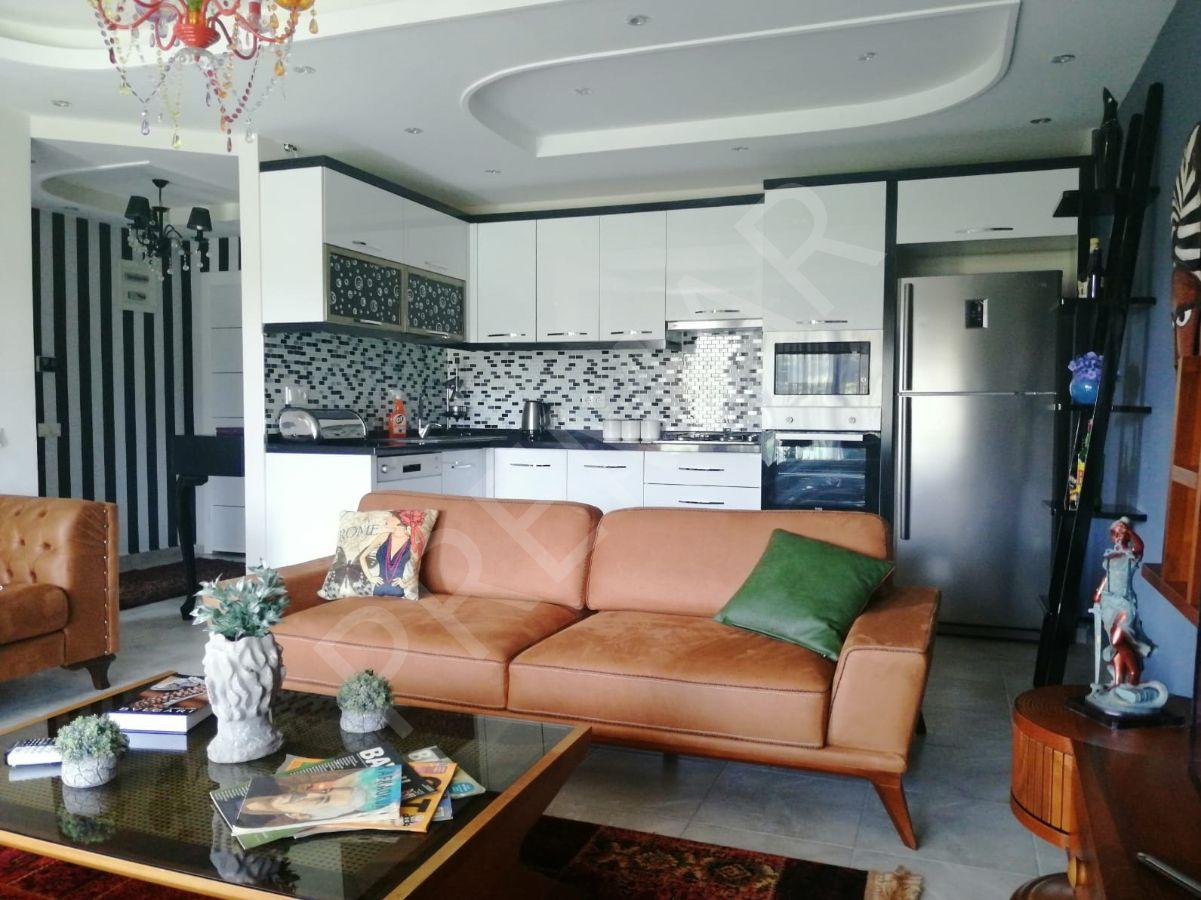 Kestelde Satılık Eşyalı 1+1 Lux Residence
