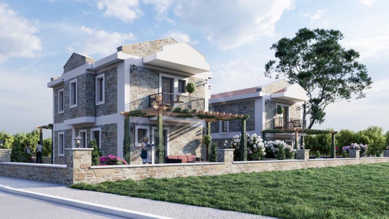 Premar Datça Burgaz'da Full Deniz Manzaralı Yeni Villa Projesi