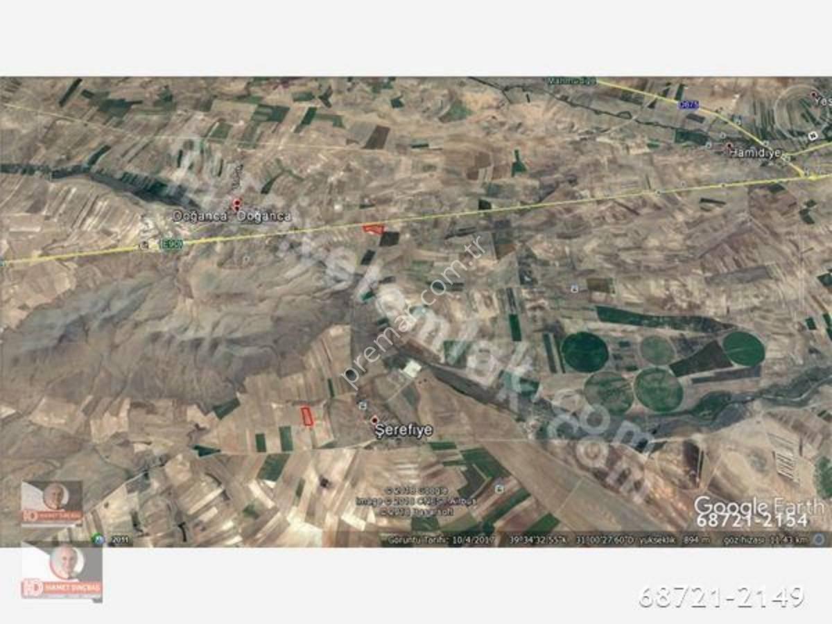 Eskişehir Mahmudiye Doğanca Mahallelerinde Satılık Tarla