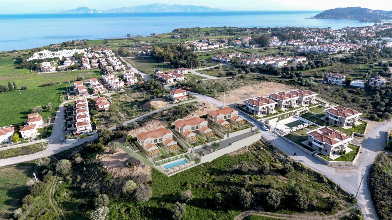 Premar Datça Muhteşem Deniz Manzaralı Havuzlu Bahçeli Villalar