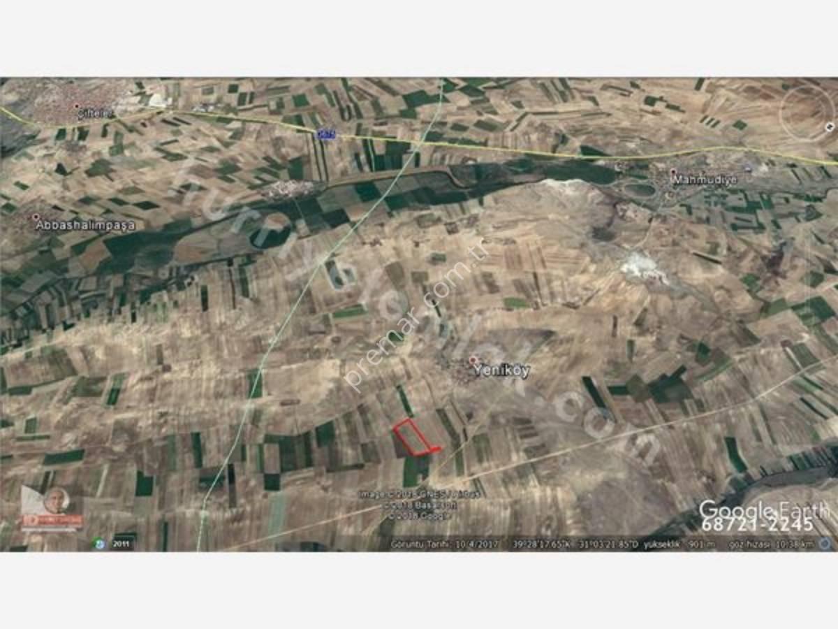 Eskişehir Mahmudiye Yeniköy Mahallesinde Satılık Tarla