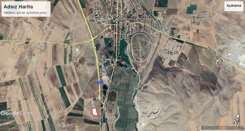 Eskişehir Mahmudiye Orta Mahallede Satılık Tarla