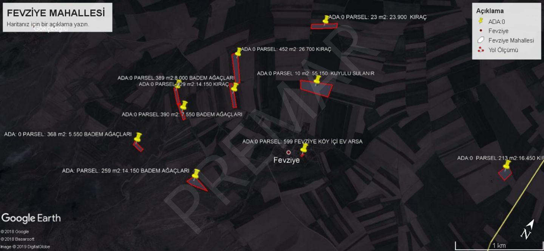 Eskişehir Alpu Fevziye Mahallesinde Satılık Tarlalar