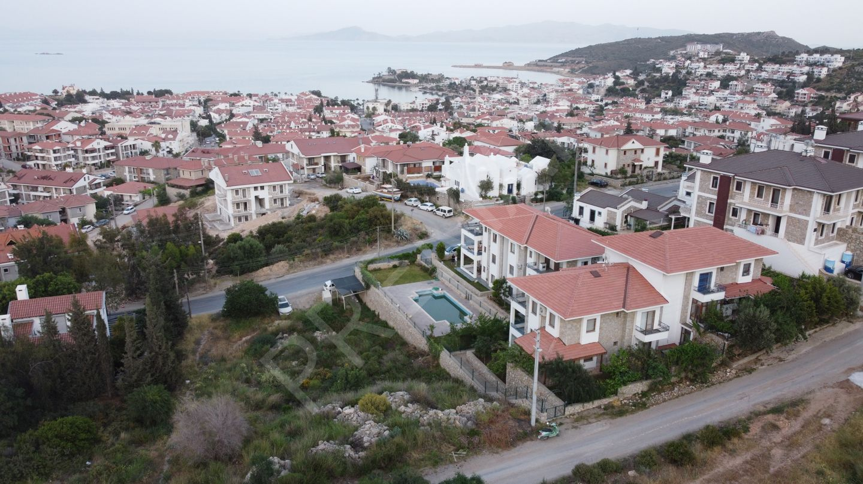 Premar Datça Merkezde Havuzlu Sitede Deniz Manzaralı Nezih Daire