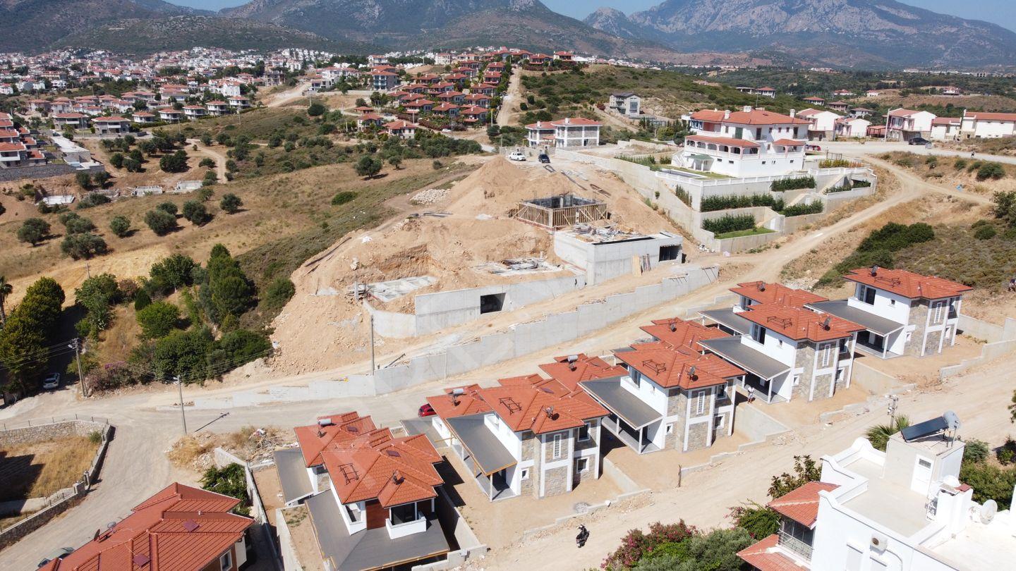 Prema Datça Burgaz'da Muhteşem Deniz Manzaralı Villa