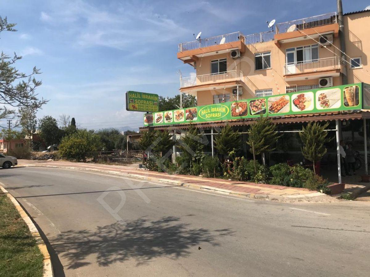 Cadde Üzerinde Devren Kiralık Restoran-lokanta