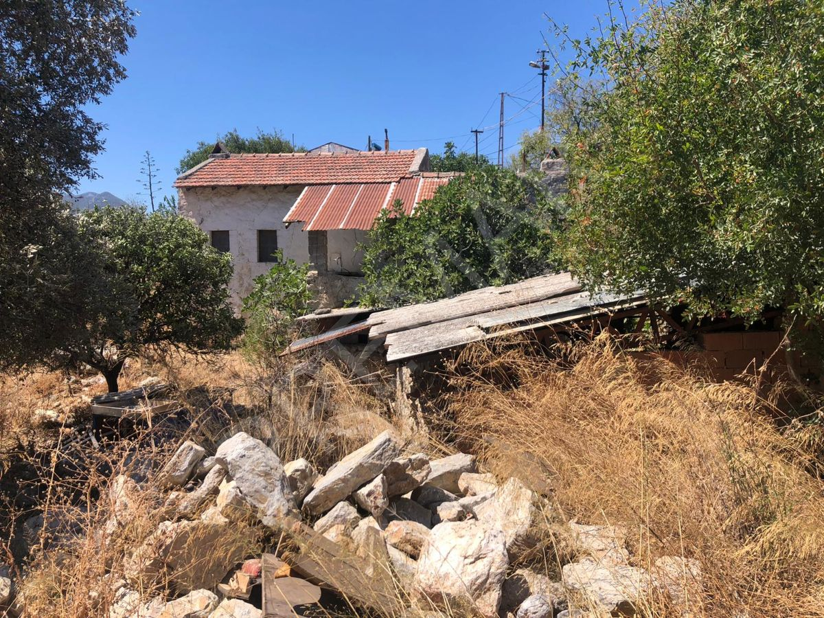 Premar Datça Reşadiye 560 M2 Arsa İçinde Deniz Manzaralı Taş Ev